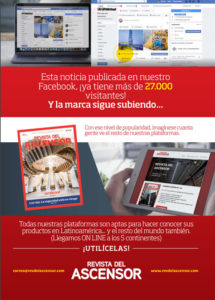 Revista del Ascensor likes de Facebook