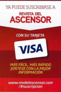 Suscribirse a la revista con Visa