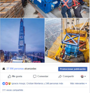 Revista del Ascensor Facebook