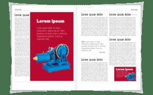 ejemplo publicidad pagina de revista 2