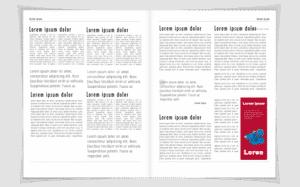 ejemplo publicidad pagina de revista