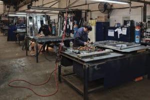 Hombres trabajando en Condor