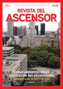 Revista del Ascensor Nº148 tapa