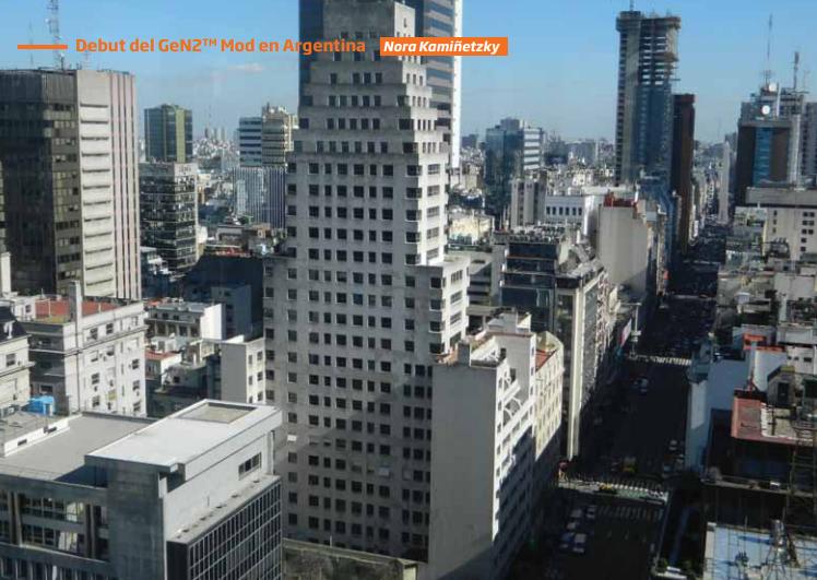 Debut del GeN2 en Argentina