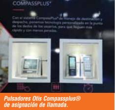 Pulsadores otis Compassplus