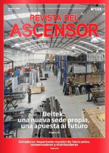 Tapa revista del Ascensor Nº153