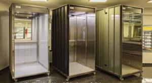 La linea de cabinas fabricadas por Beltek