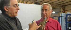 Eduardo Padulo explica el tema de los dos contactos y los ganchos