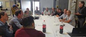 Reunión entre fabricantes y conservadores de cerraduras