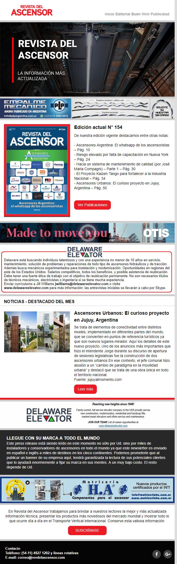 Press – Ascensores Urbanos: El curioso proyecto en Jujuy, Argentina