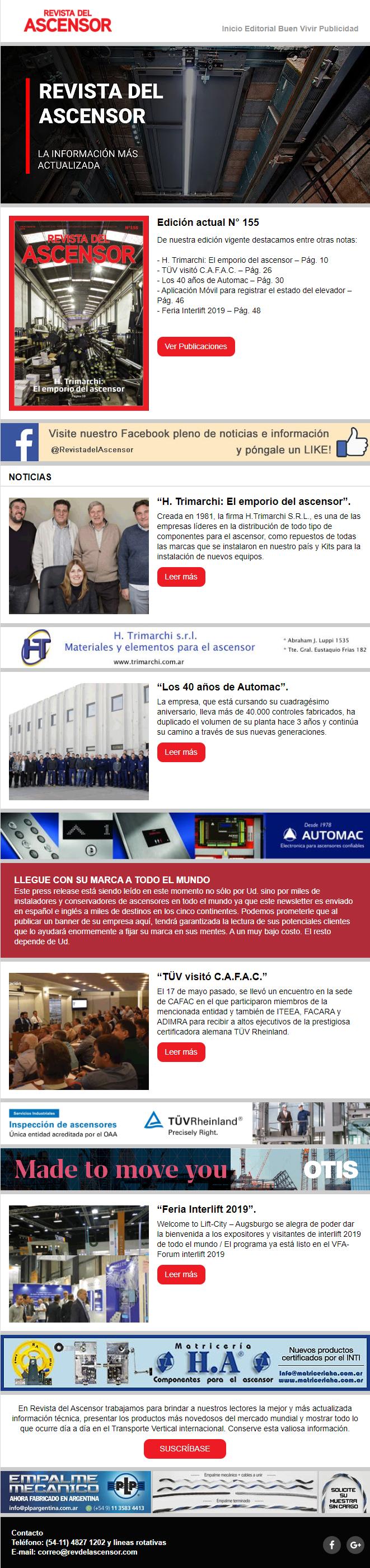 Press – Notas Trimarchi – Automac – TUV – Interlif