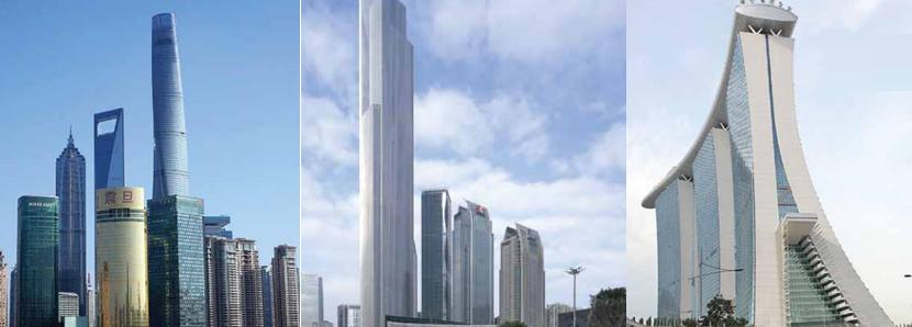 El diseño de ascensores para los edificios más grandes del mundo