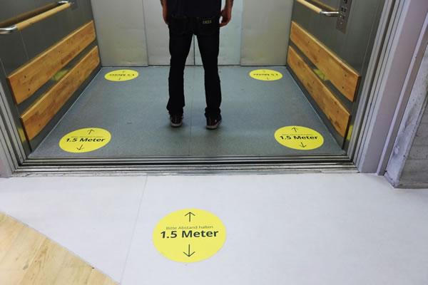 Elevators changed cities. Will coronavirus change elevators?